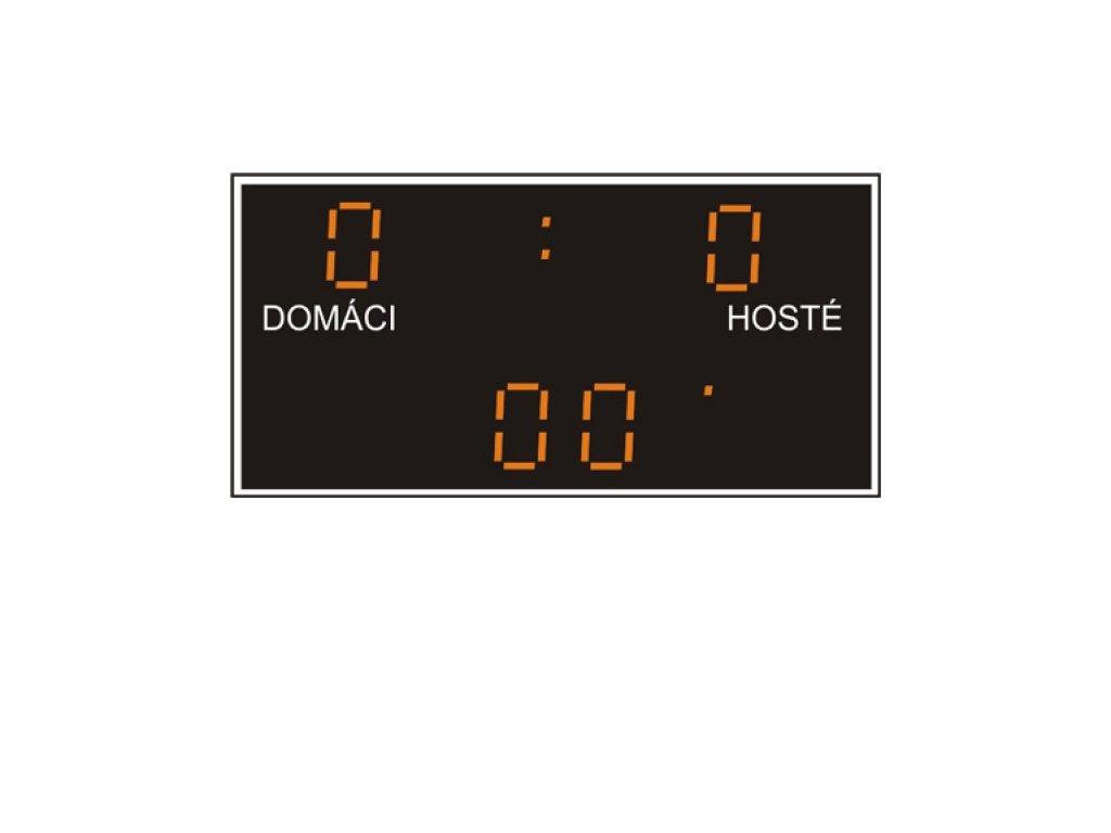 Světelná tabule Derby 0-19 + 2x sada dresů Legea