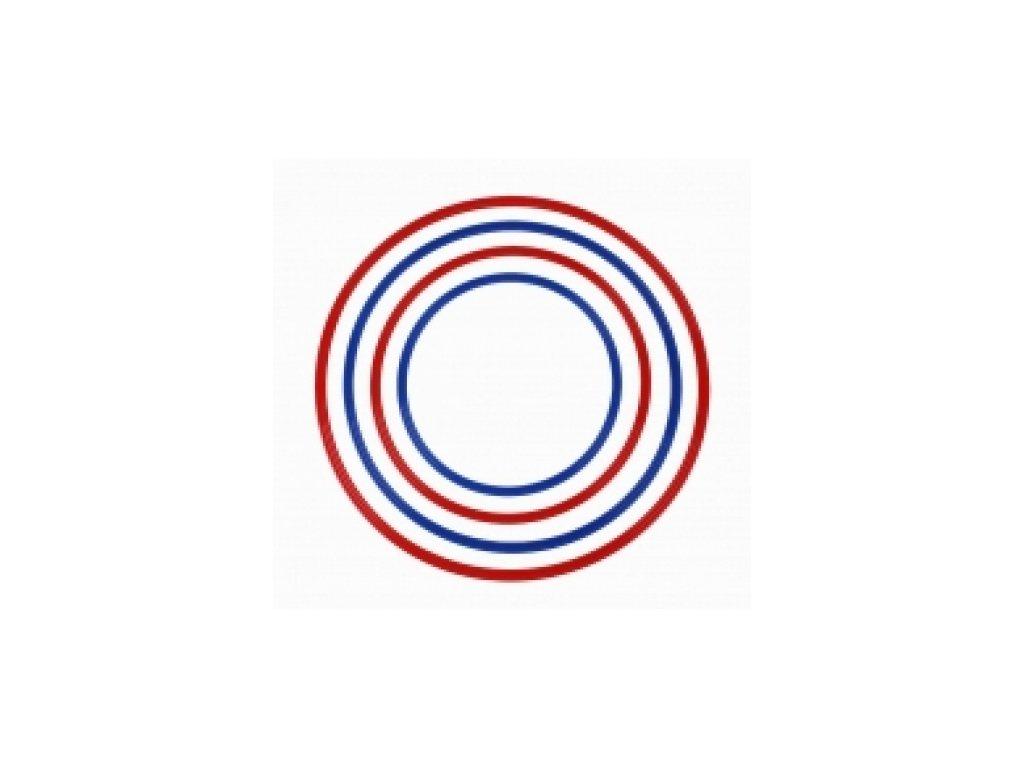Kruh překážkový červený