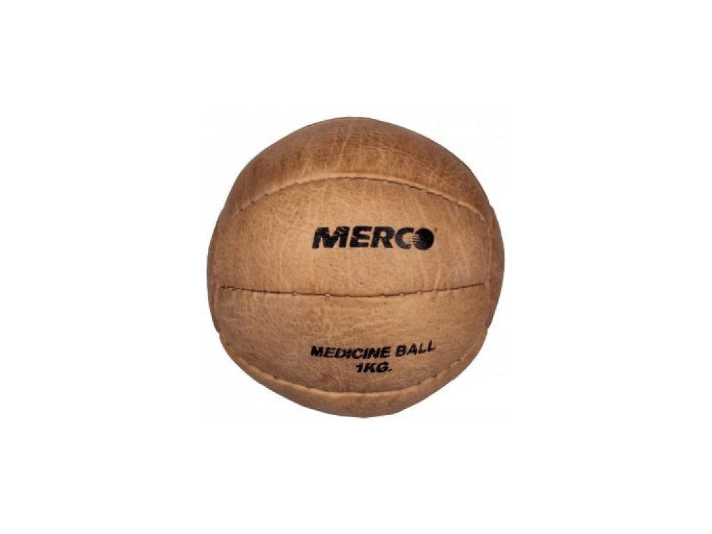 Medicinální míč Leather / medicinbal