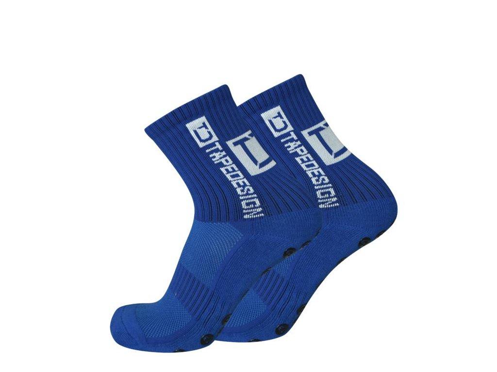 TapeDesign protiskluzové ponožky - modré TD005 - IMSport.cz - vše pro sport 807a49087d