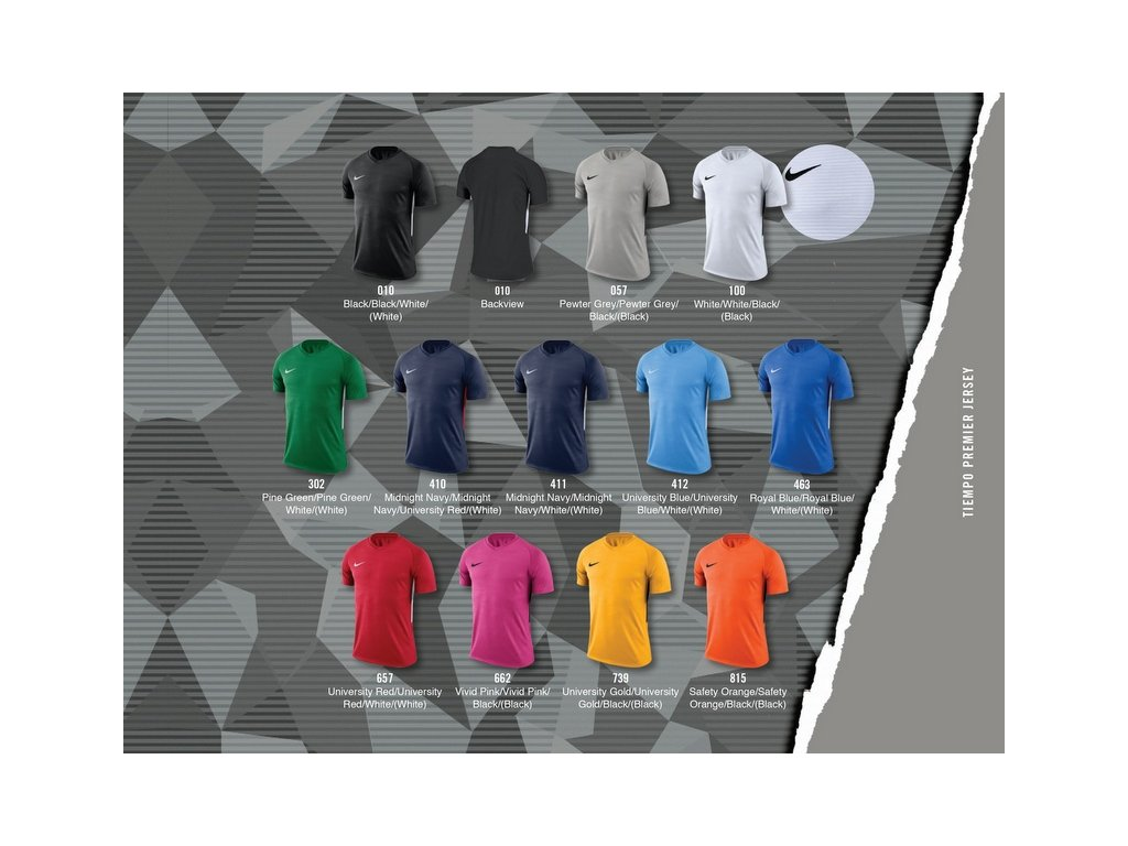 Dětská sada dresů Nike Tiempo Premier junior - krátký rukáv 894111