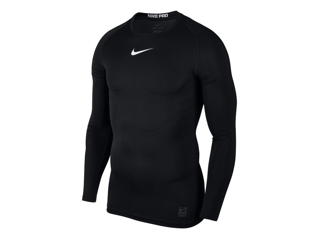 Thermo triko Nike Top Compression s dlouhým rukávem 838077 010