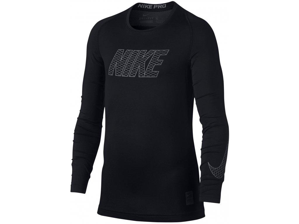 Thermo triko Nike Top Compression s dlouhým rukávem 858232 010