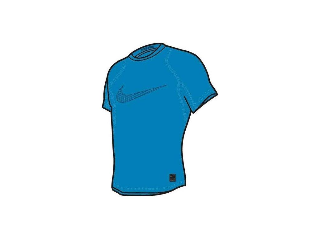 Dětské kompresní triko s krátkým rukávem Nike Pro 858233 474