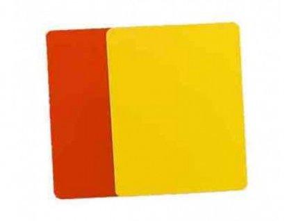 Karta pro rozhodčí - set, červená + žlutá