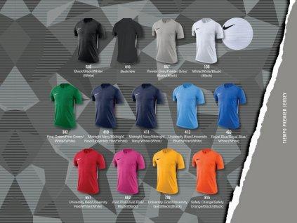 Dětská sada dresů Nike Tiempo Premier junior - dlouhý rukáv 894113