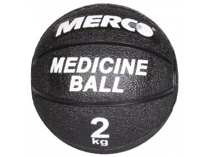 Black gumový medicinální míč