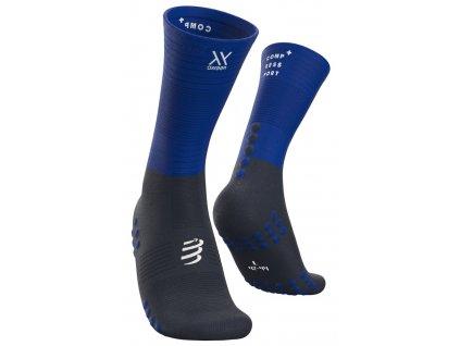 mid compression socks blue lolite t1