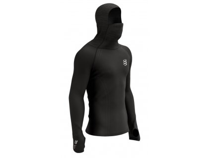 3d thermo ultralight racing hoodie black xl