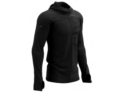 3d thermo seamless hoodie zip black edition 2021 m