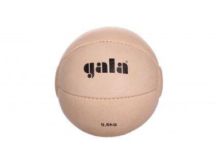 Gala BM 01 kožený medicinální míč