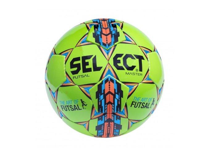 Futsalový míč Select FB Futsal Master / zeleno modrá
