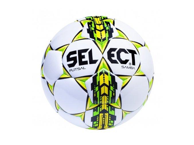 Futsalový míč Select FB Futsal Samba / bílo zelená