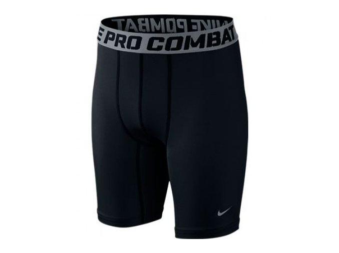 Nike dětské thermo šortky CORE COMP SHORT YTH 522804 010
