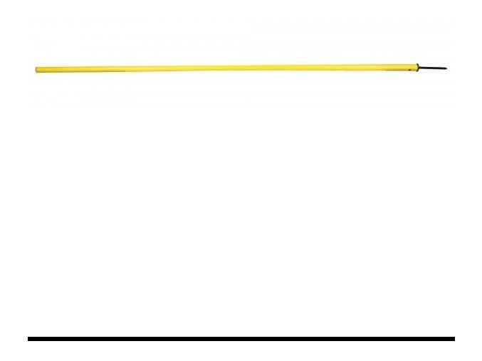 Tyč slalomová Economy s bodcem 150 cm, 170 cm