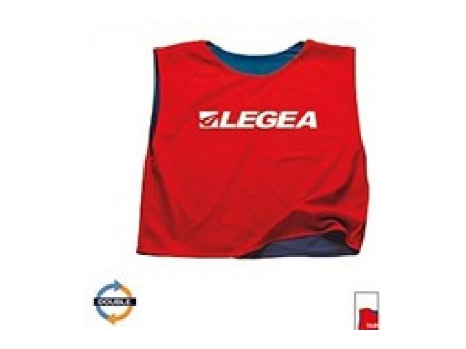 Rozlišovací dres Legea DOUBLE modrá / červená C150-0212