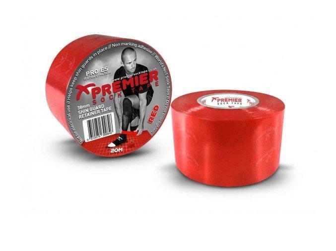 Tejpovací páska Premier Sock Tape 38mm Shin Guard Retainer Tape