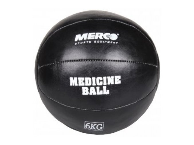 Medicinální míč Black Leather / medicinbal 1kg