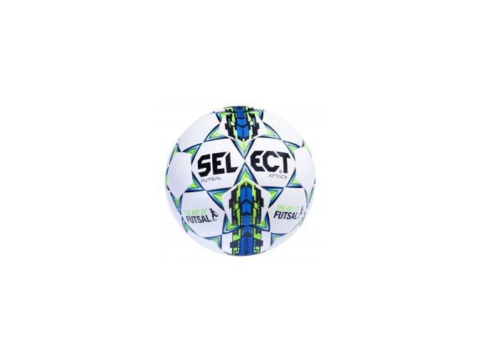 futsálový míč Select FB Futsal Attack / bílo modrá