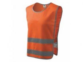 Bezpečnostní vesta Classic Safety Vest reflexní oranžová