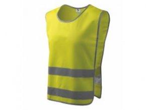Bezpečnostní vesta Classic Safety Vest reflexní žlutá