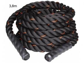 Posilovací lano Battle, tréninkové lano - 3,8 cm