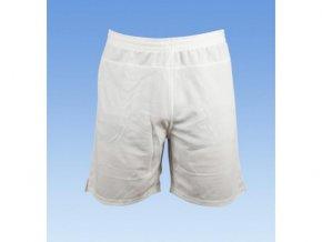 Fotbalové šortky bez loga - bílá