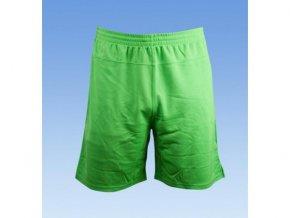 Fotbalové šortky bez loga - zelena