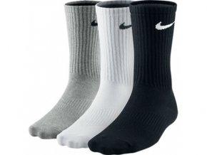 Ponožky Nike 3PPK LIGHTWEIGHT CREW SX4704 901