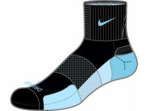 Ponožky Nike NEW NIKE ELITE WMN RUN QTR S M SX3664 064