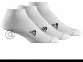 Ponožky Adidas Lin Plain T 3pp / Z11276