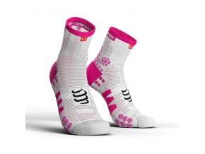 ponozky v3 0 bezecke vysoke pink