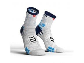 ponozky v3 0 bezecke vysoke blue