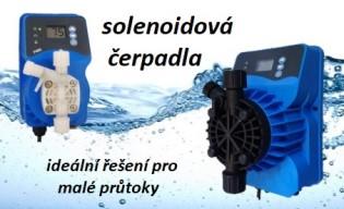solenoidová dávkovací čerpadla