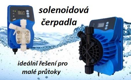 solenoidová čerpadla
