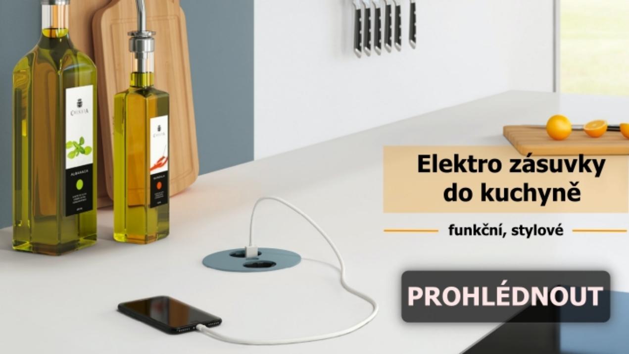 Elektro zásuvky do kuchyně