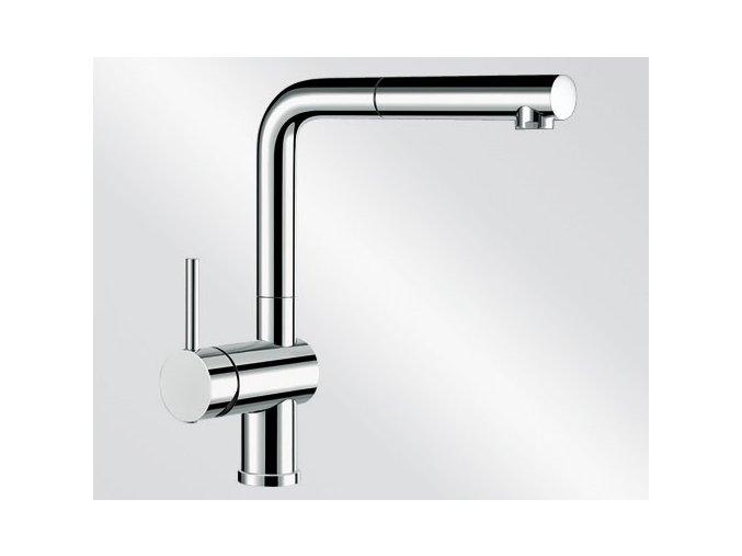 Kuchyňská vodovodní baterie Blanco LINUS-S chrom ovládání vlevo 514016
