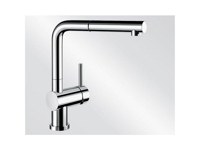 Kuchyňská vodovodní baterie Blanco LINUS-S-F chrom lesk beztlaková 514276