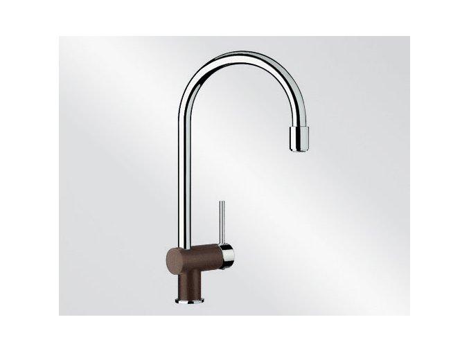 Kuchyňská vodovodní baterie Blanco FILO-S silgranit kávová/chrom 514943