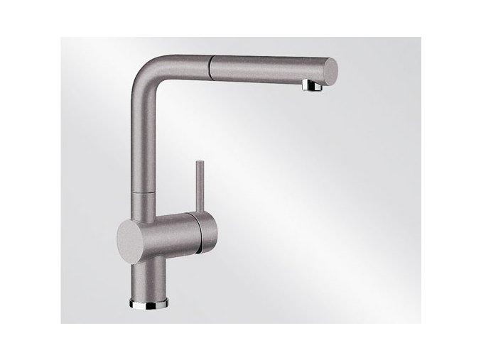 Kuchyňská vodovodní baterie Blanco LINUS-S silgranit aluminium 516689