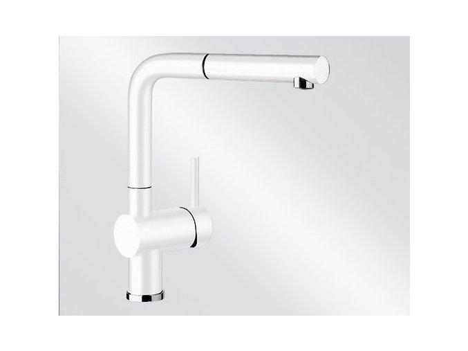 Kuchyňská vodovodní baterie Blanco LINUS-S silgranit bílá 516692