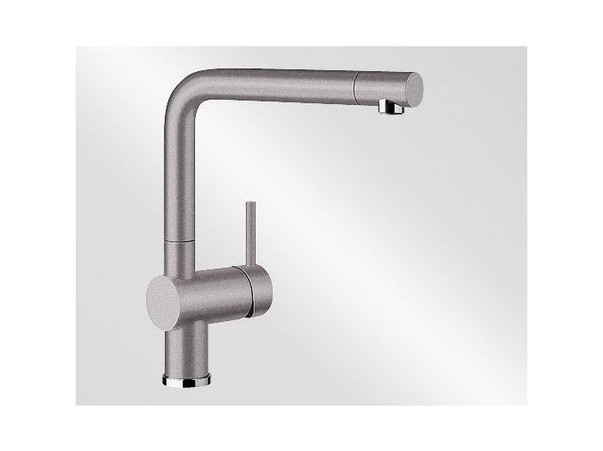 Kuchyňská vodovodní baterie Blanco LINUS silgranit aluminium 516699