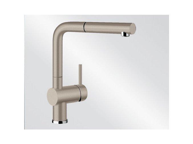 Kuchyňská vodovodní baterie Blanco LINUS-S silgranit tartufo 517621