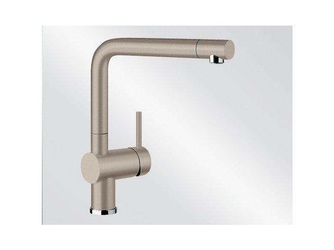 Kuchyňská vodovodní baterie Blanco LINUS silgranit tartufo 517622
