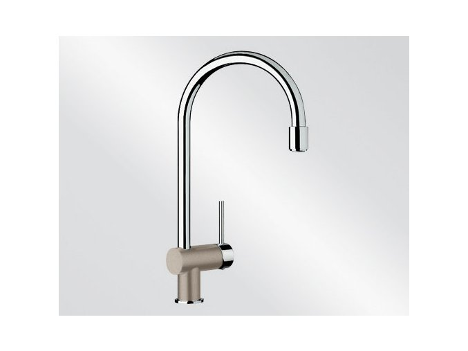 Kuchyňská vodovodní baterie Blanco FILO-S silgranit tartufo/chrom 517636
