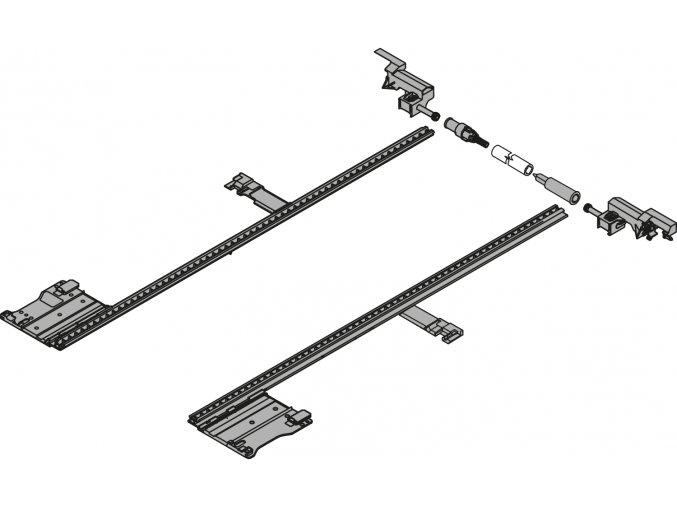 Bocni stabilizace 600 mm LEGRABOX pure
