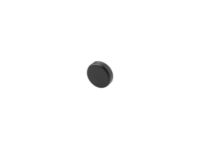 krytka misky zavesu na sklo cerna 84.4140