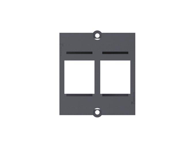 114 1 modul ramecek pro modulovou spojku 2x keystone 917 000
