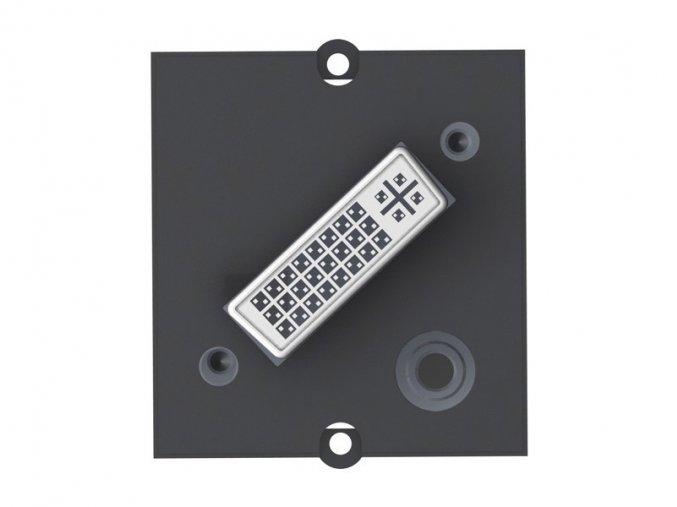 144 2 modul 1xdvi i 1x konektor jack 3 5 mm 917 021