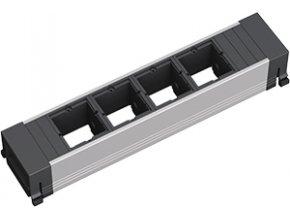 213 1 zasuvkova jednotka kratka 4x uziv modul 909 000